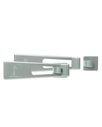 SILVER STYLE REFRIGERATOR & APPLIANCE LATCH 2 PACK - POLY BAG