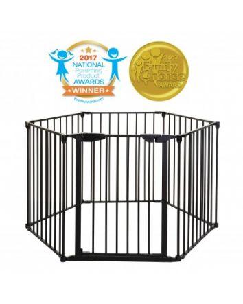 MAYFAIR 3-IN-1 CONVERTA® PLAY-PEN GATE - BLACK