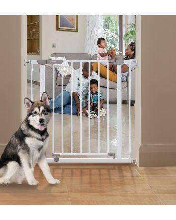 AVA SECURITY GATE - WHITE