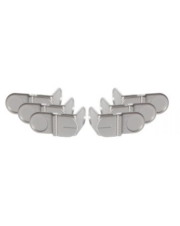 STYLE™ ANGLE LOCKS 6 PACK - POLY BAG