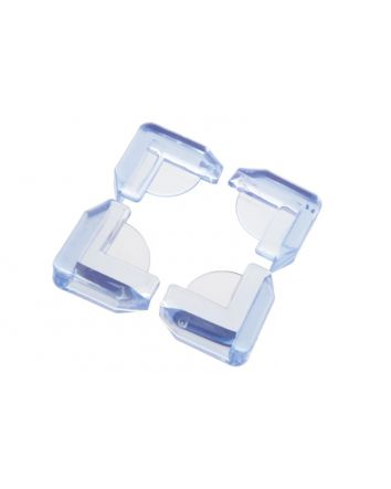 FURNITURE & GLASS CORNER CUSHIONS, 4PK