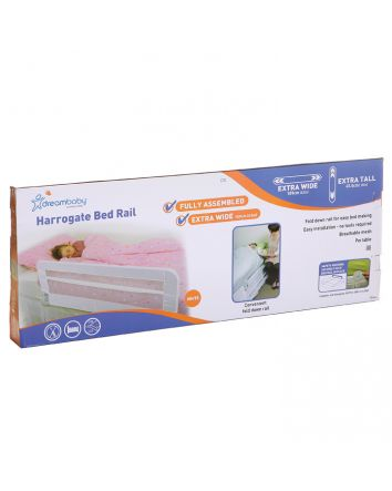 HARROGATE XTRA BED RAIL - WHITE