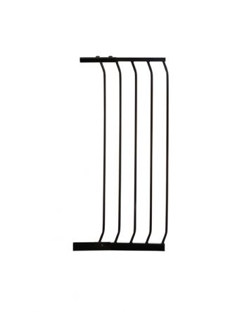 CHELSEA TALL 36CM GATE EXTENSION  - BLACK