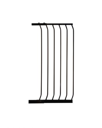 CHELSEA TALL 45CM GATE EXTENSION - BLACK