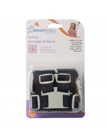 SAFETY HARNESS & REINS - NAVY