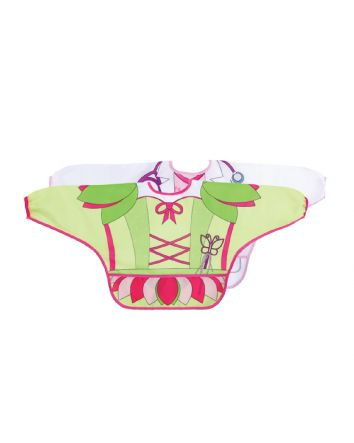DREAMBABY® CHARACTER BIBS/SMOCKS WITH SLEEVES 2PK FAIRY/VET