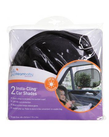 INSTA-CLING® CAR SHADES 2 PACK BLACK