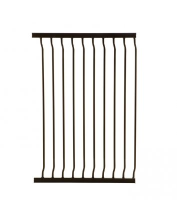 LIBERTY TALL 63CM GATE EXTENSION - BLACK