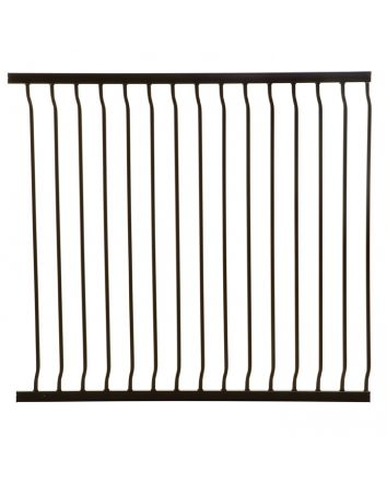 LIBERTY TALL 100CM GATE EXTENSION - BLACK