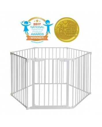 MAYFAIR 3-IN-1 CONVERTA® PLAY-PEN GATE - WHITE