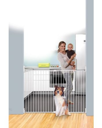 BROADWAY XTRA-WIDE & XTRA-TALL GRO-GATE® - WHITE