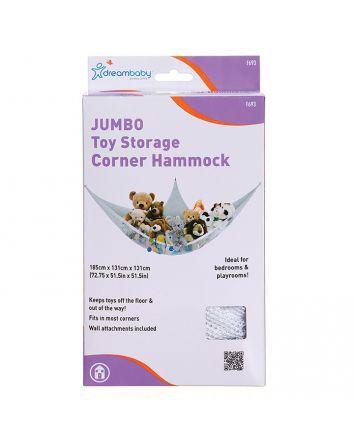 JUMBO TOY STORAGE CORNER HAMMOCK