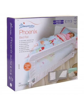 PHOENIX BED RAIL - WHITE