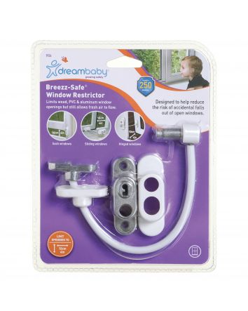 BREEZZ-SAFE® WINDOW RESTRICTOR