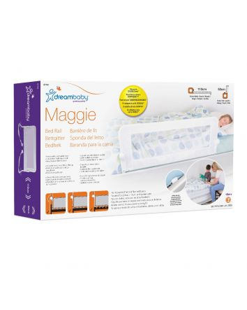 MAGGIE BED RAIL - WHITE