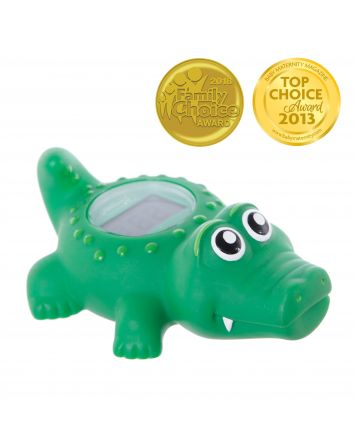CROCODILE BATH & ROOM THERMOMETER